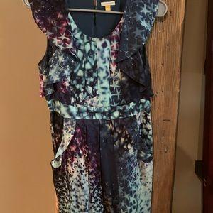Starburst Pattern Dress